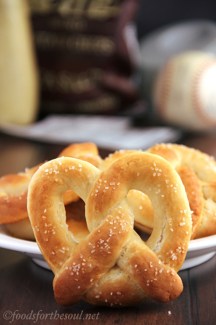 soft salted pretzels