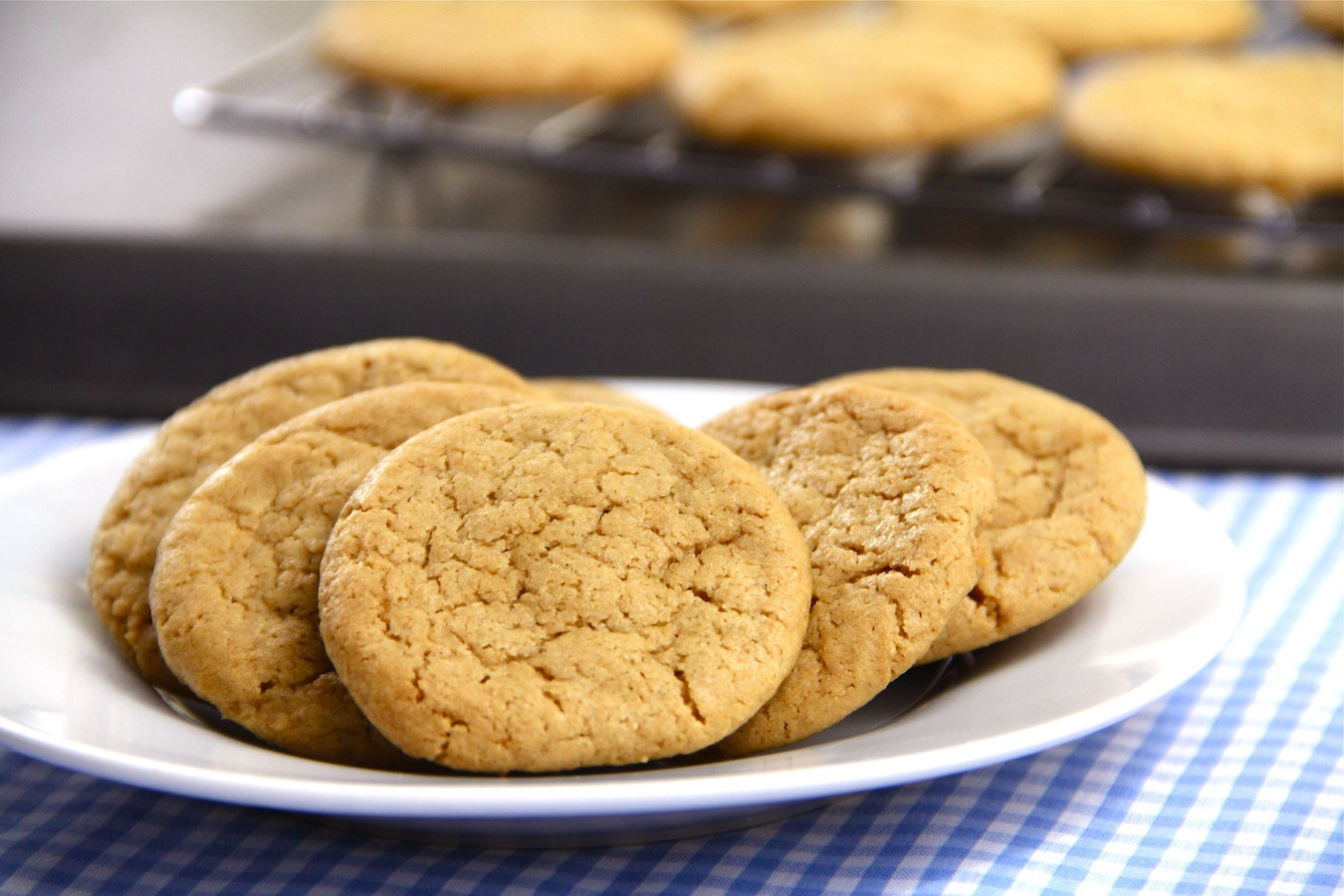 gluten-free dairy-free peanut butter cookies