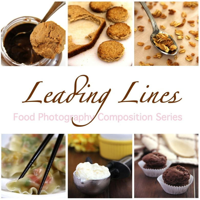 Food Photo Composition: Leading Lines