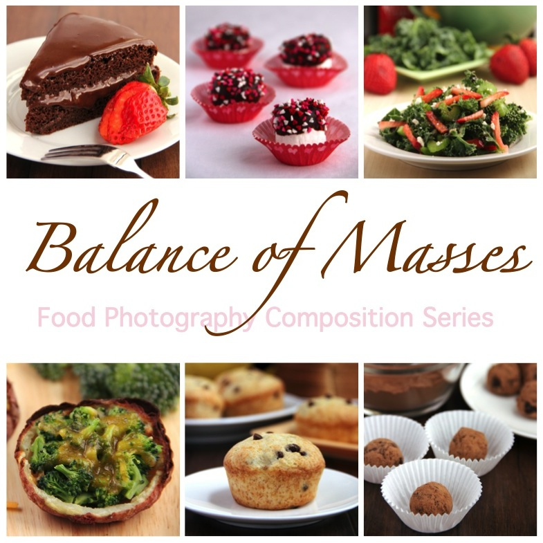 Food Photo Composition: Balance of Masses