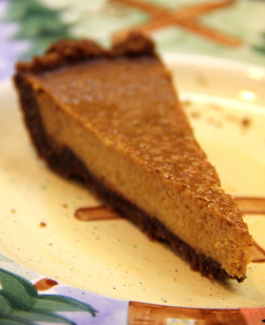gingersnap pumpkin layer pie