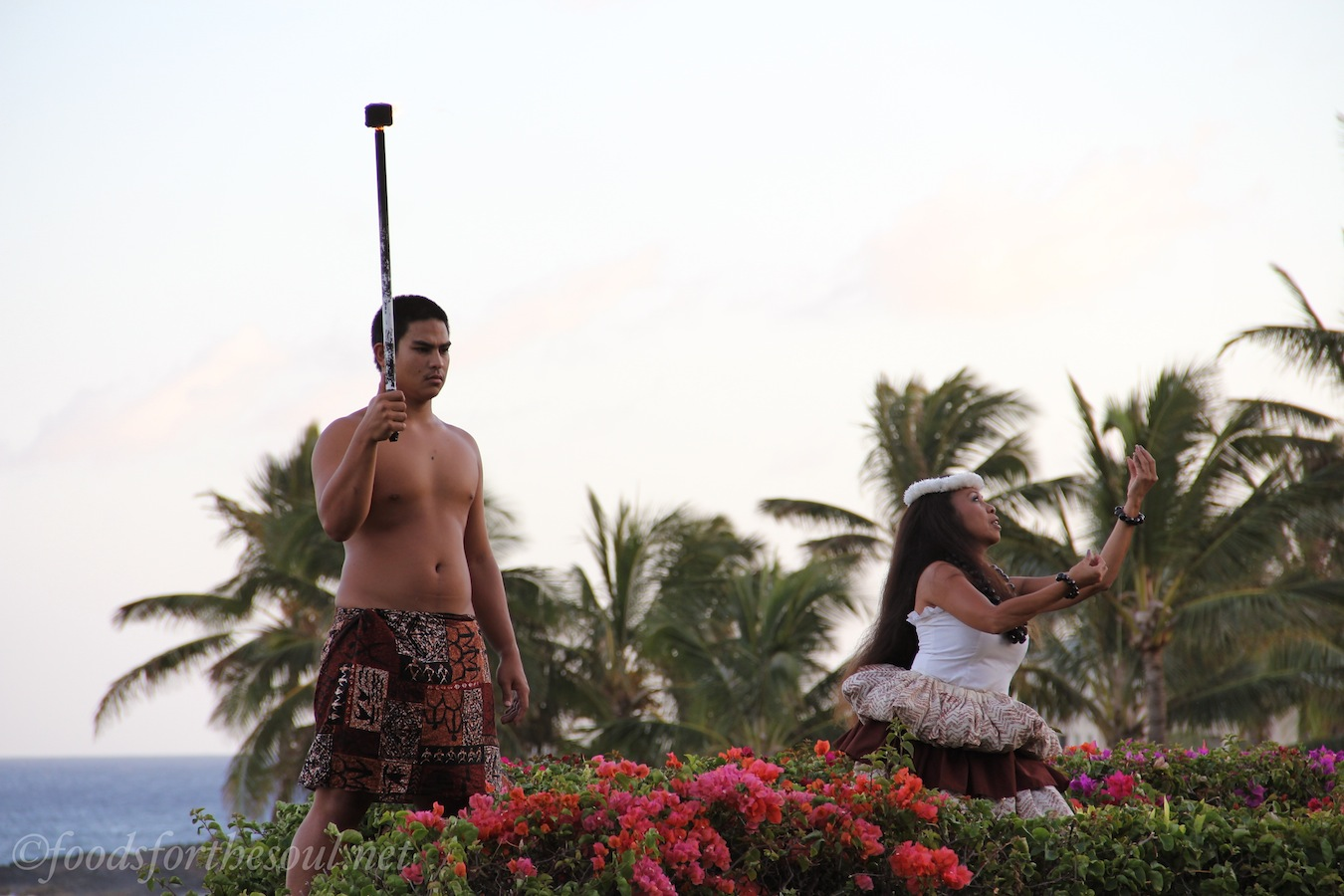 hawaiian torch lighting ceremony