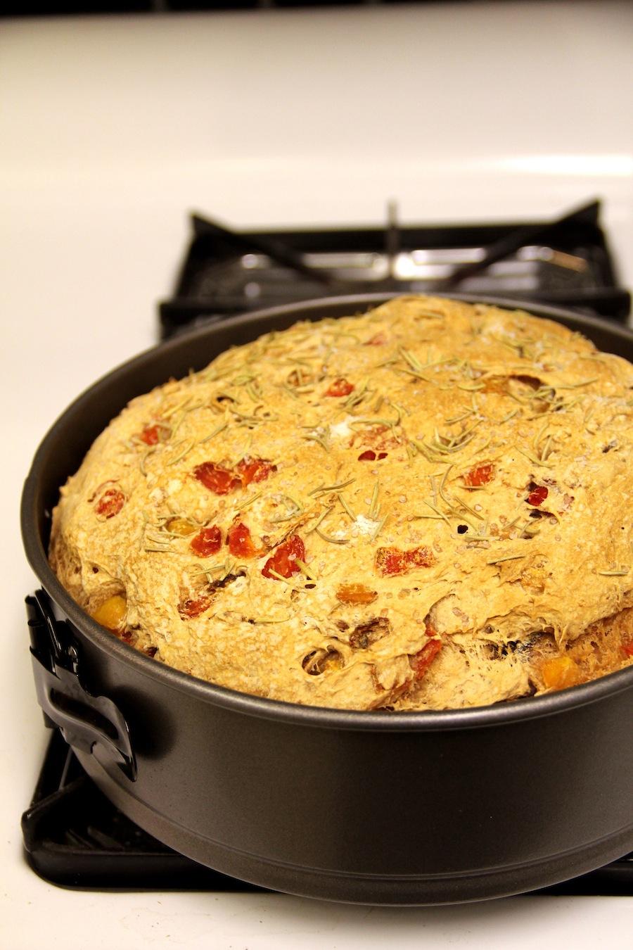 roasted bell pepper bread