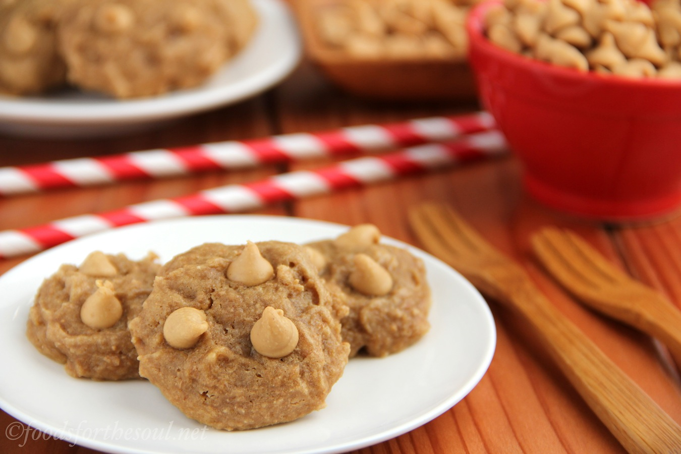 Triple Threat Peanut Butter Cookies