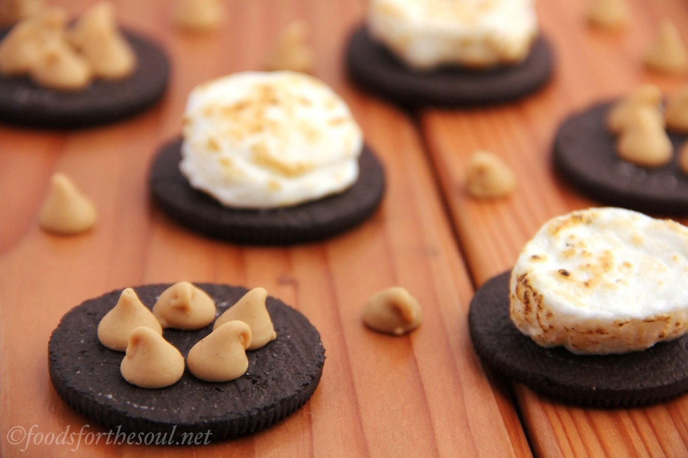 peanut butter oreo s'mores | Foods for the Soul