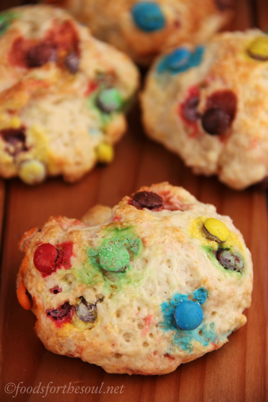 M&M Scones | by Foods for the Soul {foodsforthesoul.net}