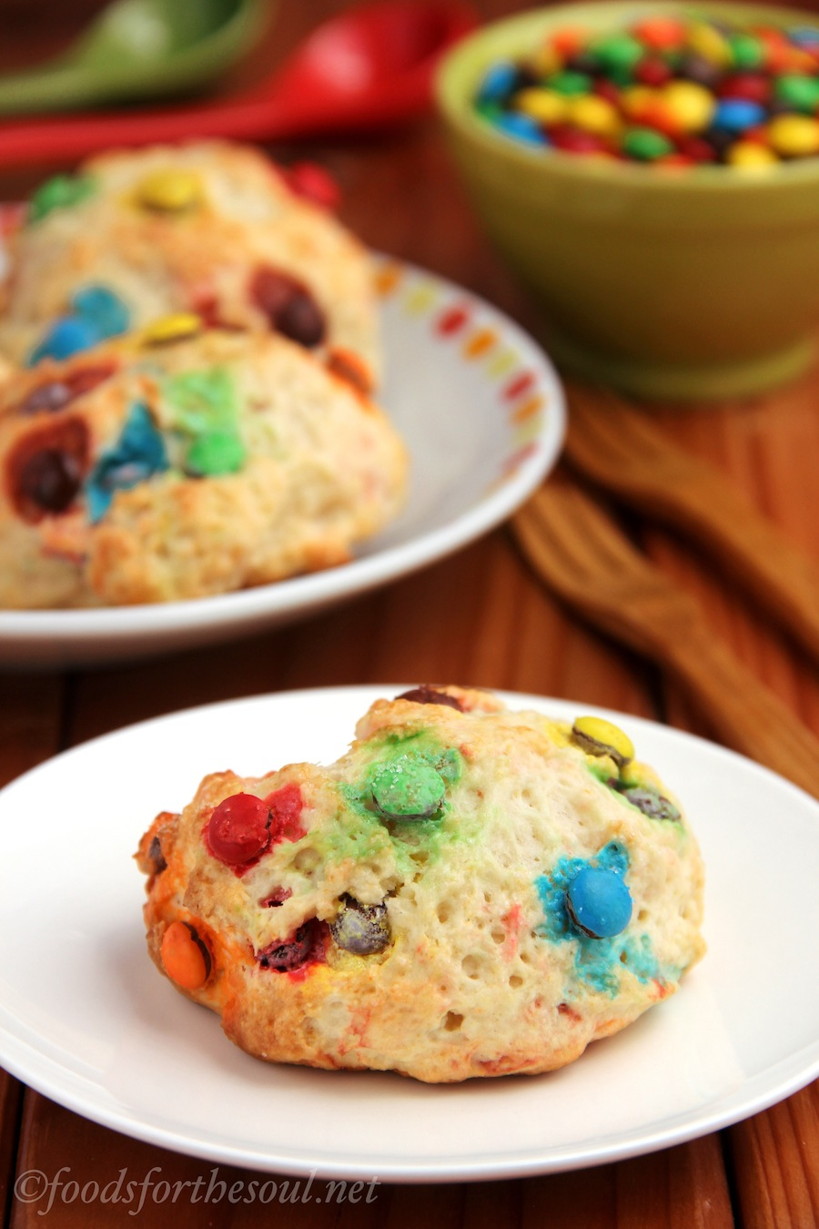 M&M Scones | by Foods for the Soul