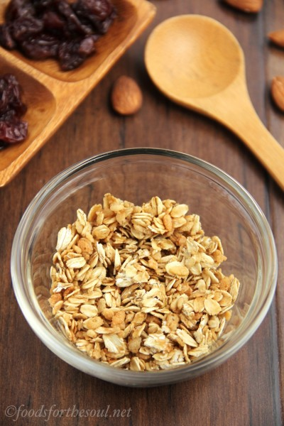 The Easiest Granola Ever!