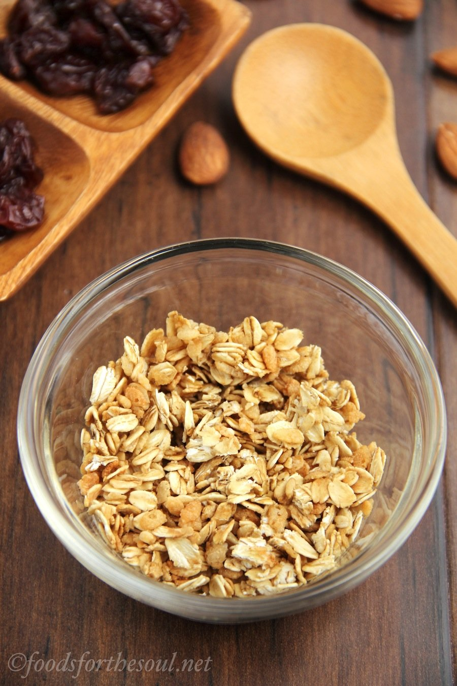 Single-Serving Microwave Granola | by Foods for the Soul
