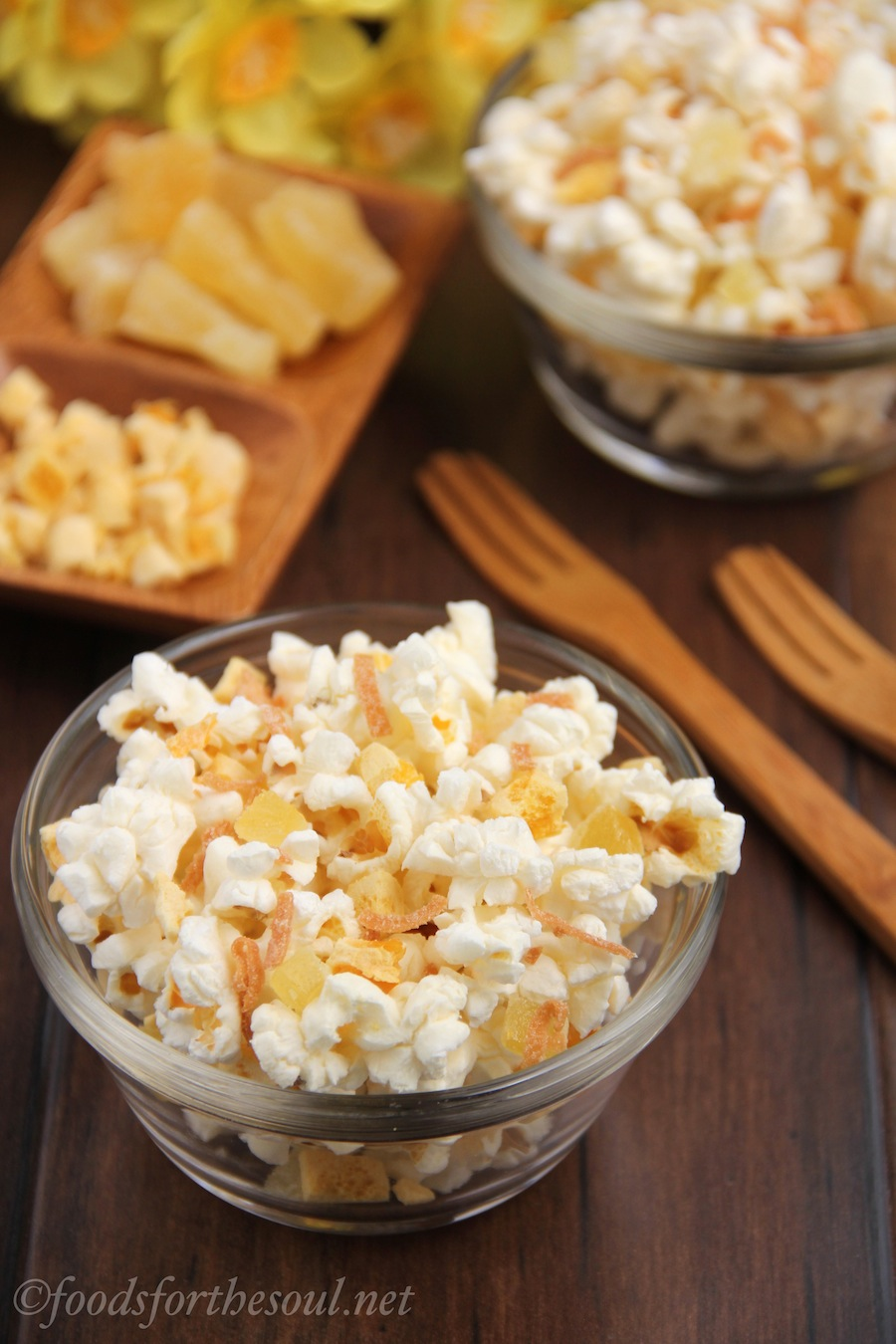 Tropical Popcorn Snack Mix | by Foods for the Soul