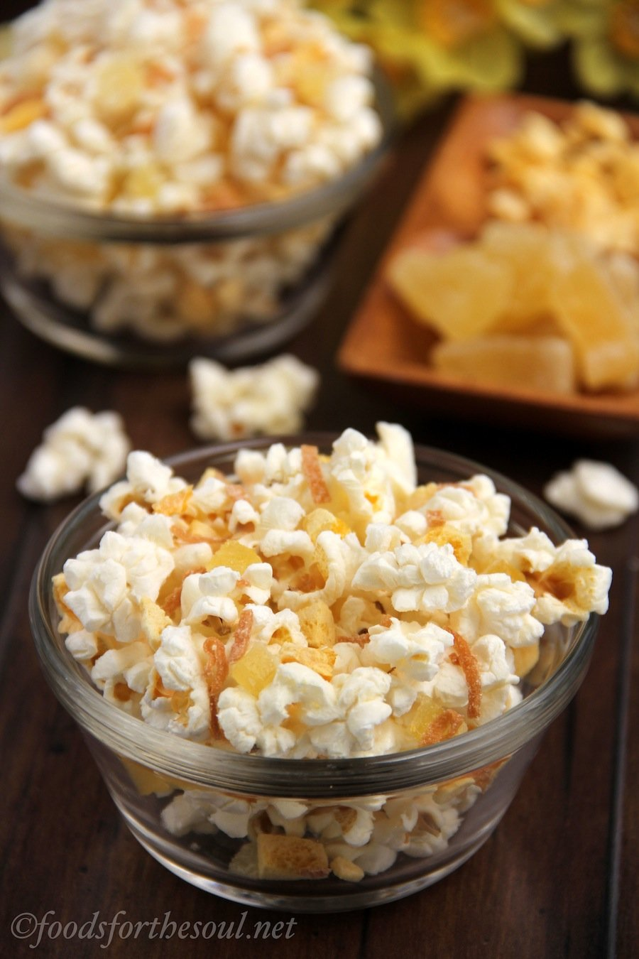 Tropical Popcorn Snack Mix | by Foods for the Soul {foodsforthesoul.net}