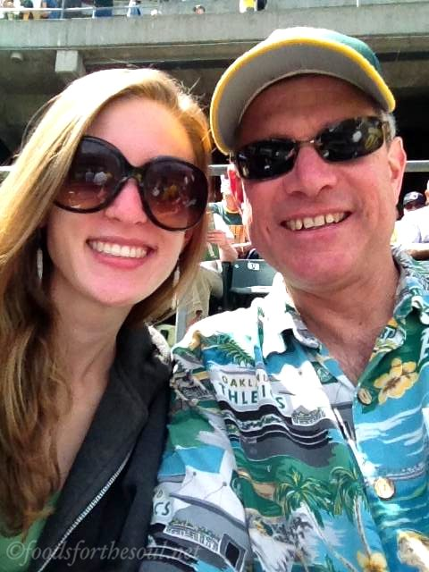 Father-Daughter Oakland A's Game | by Foods for the Soul