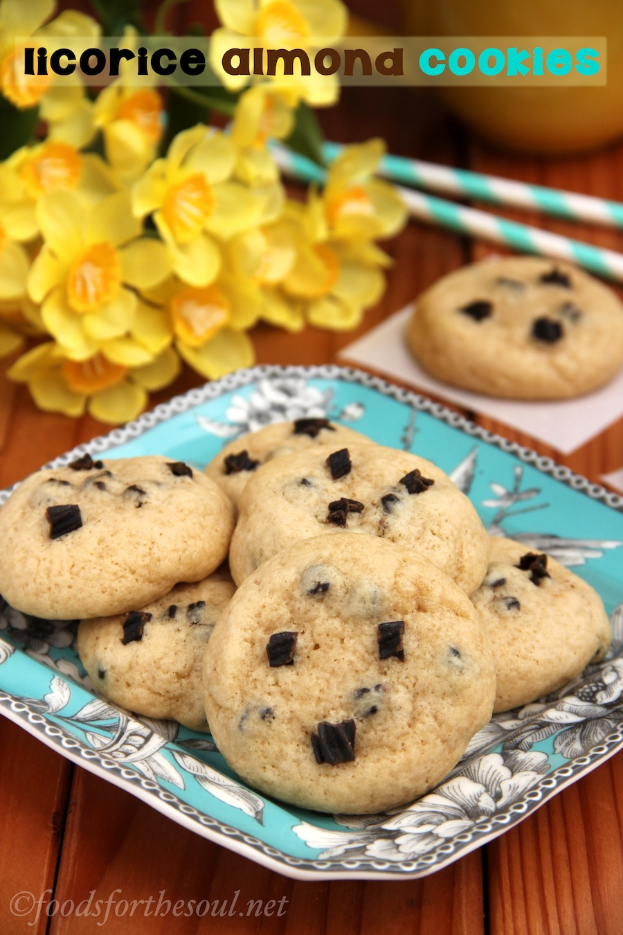 Licorice Almond Cookies | by Foods for the Soul