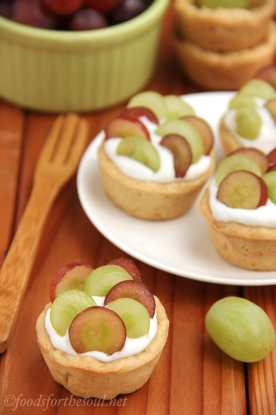 Mini Grape Tarts | by Foods for the Soul