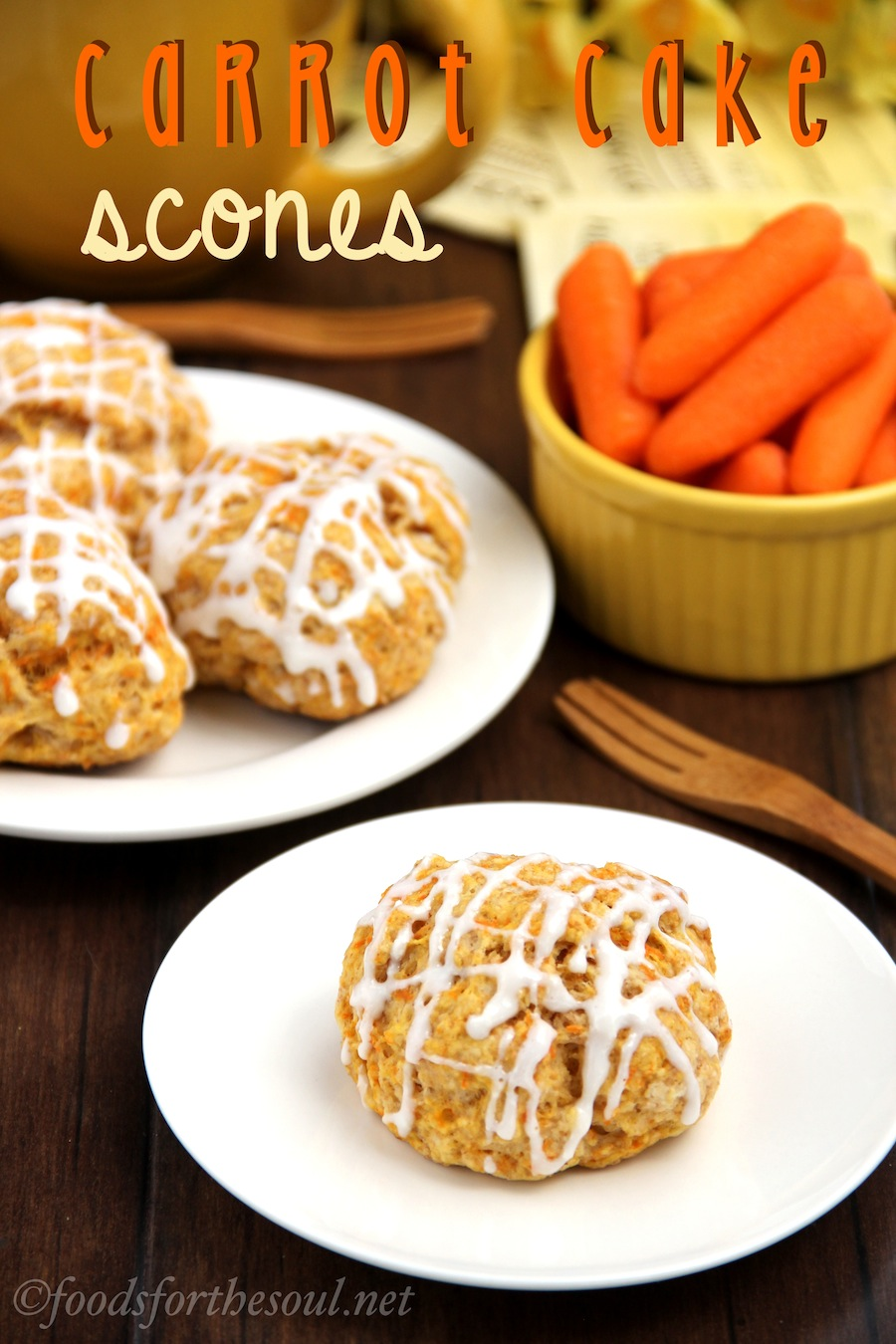 Recipe: Carrot Cake Scones