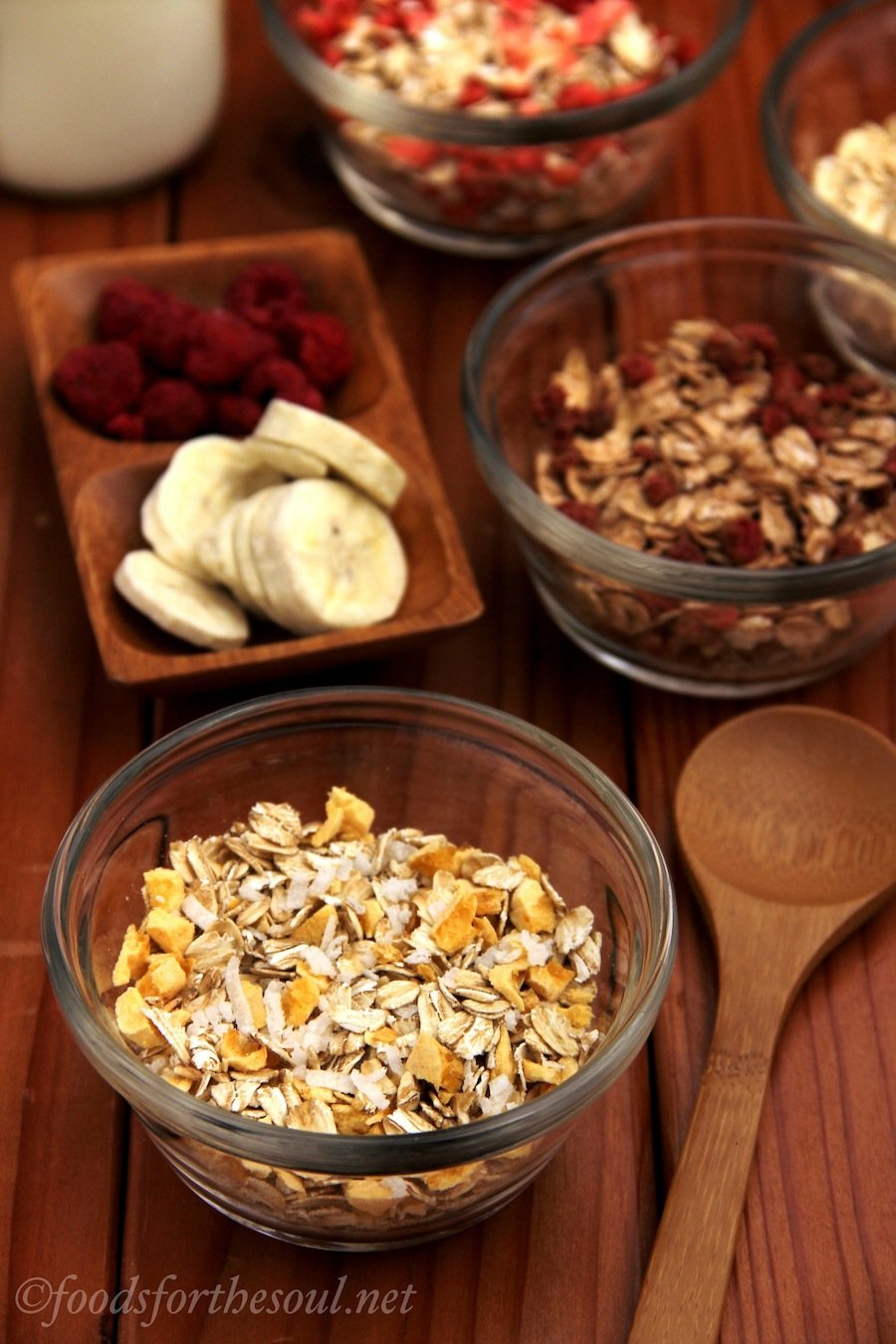 4 Clean & Skinny Muesli Blends | by Foods for the Soul {foodsforthesoul.net}