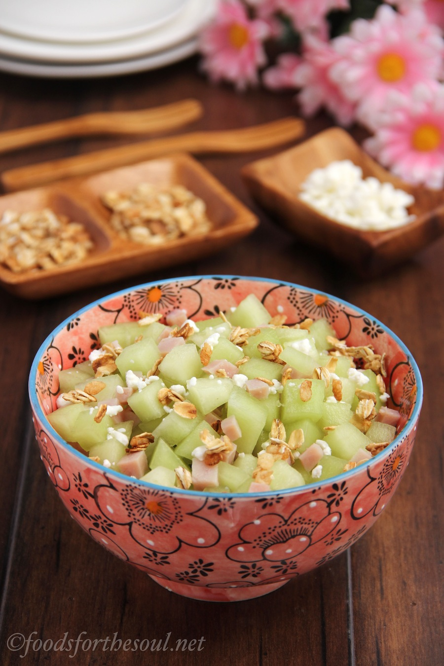 Honeydew and Ham Salad | by Foods for the Soul