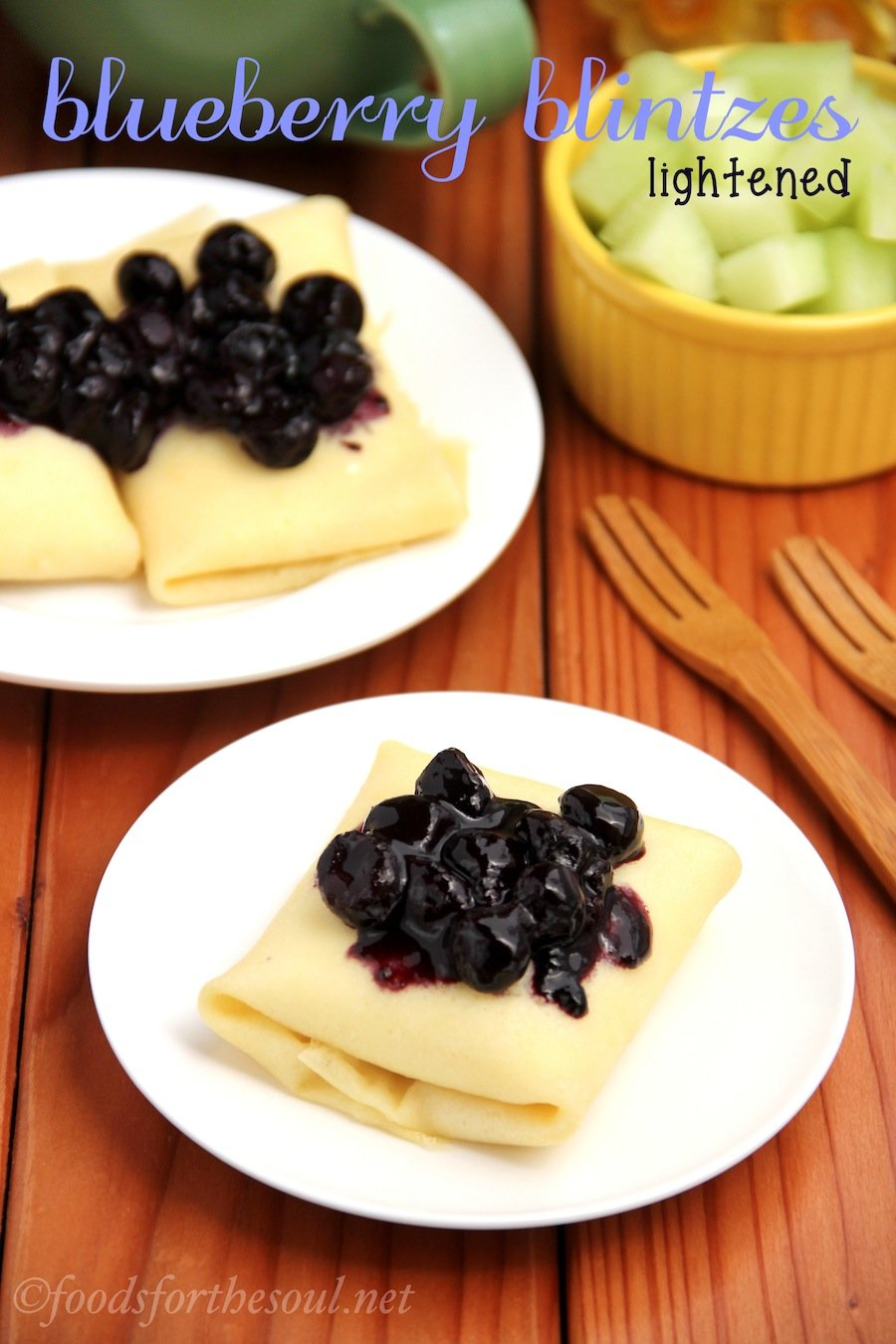 Blueberry Blintzes | by Foods for the Soul