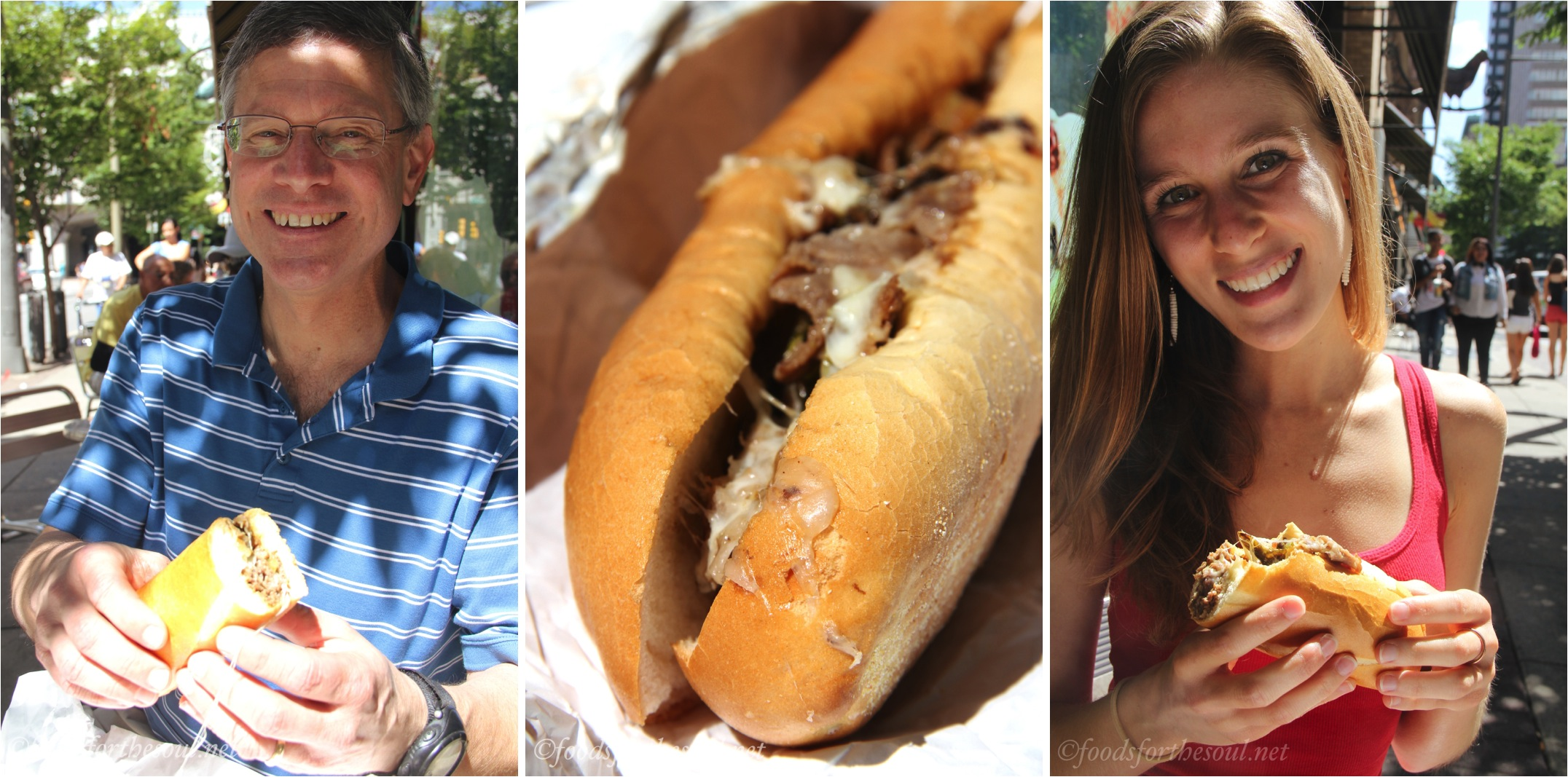 First Philly Cheesesteak Experience! | @ Foods for the Soul {foodsforthesoul.net}