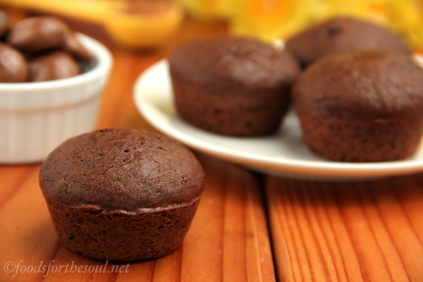Milk Dud Mini Muffins | by Foods for the Soul {foodsforthesoul.net}