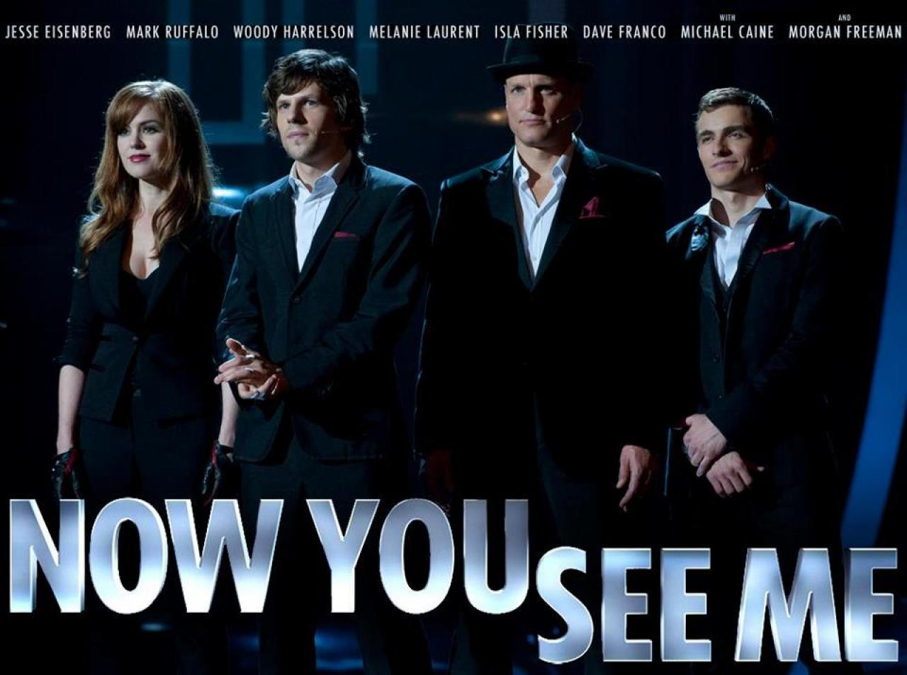 """Now You See Me"" -- captivating movie about magicians! {Sunday Funday #4 on foodsforthesoul.net}"