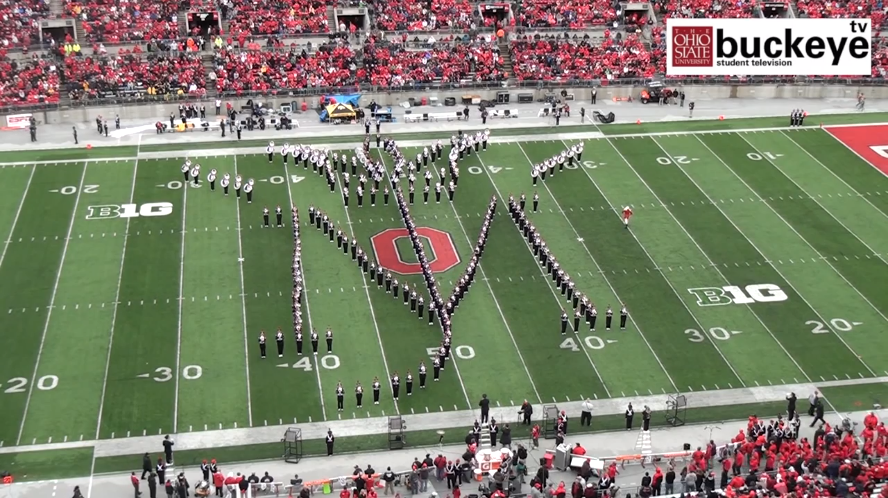 Ohio State Marching Band -- Michael Jackson Moonwalk {Sunday Funday #4 on foodsforthesoul.net}