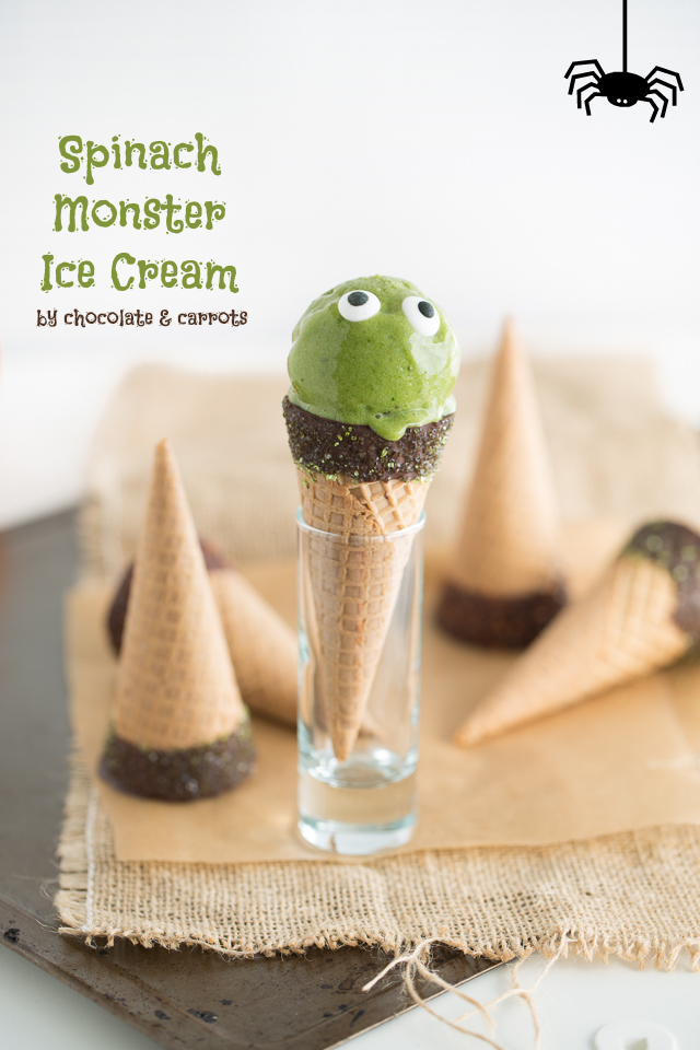 Spinach Monster Ice Cream | Sunday Funday #2 on foodsforthesoul.net