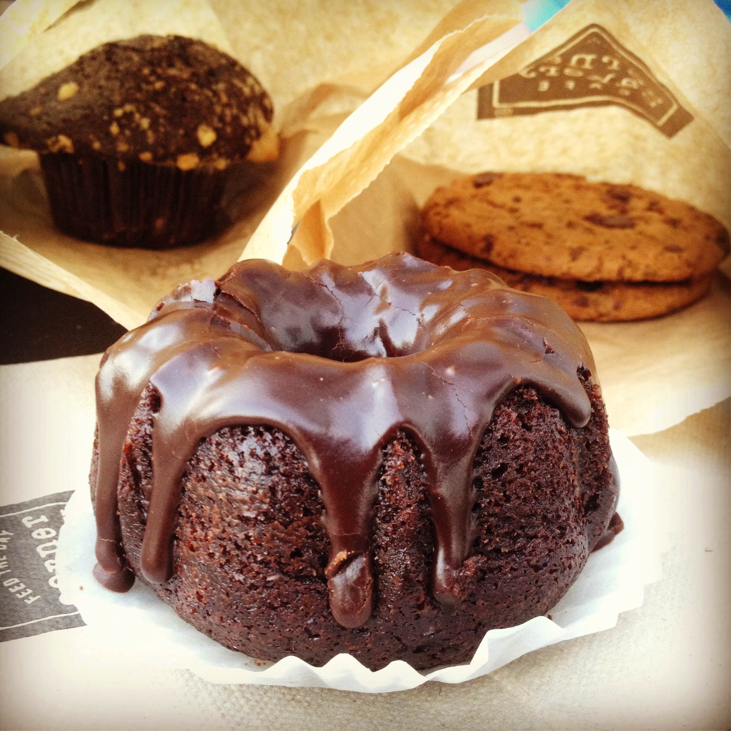 Chocolate Desserts from the Corner Bakery Café {foodsforthesoul.net}