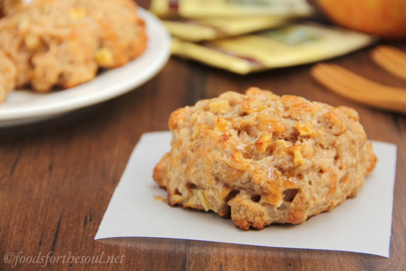 Caramel Apple Scones