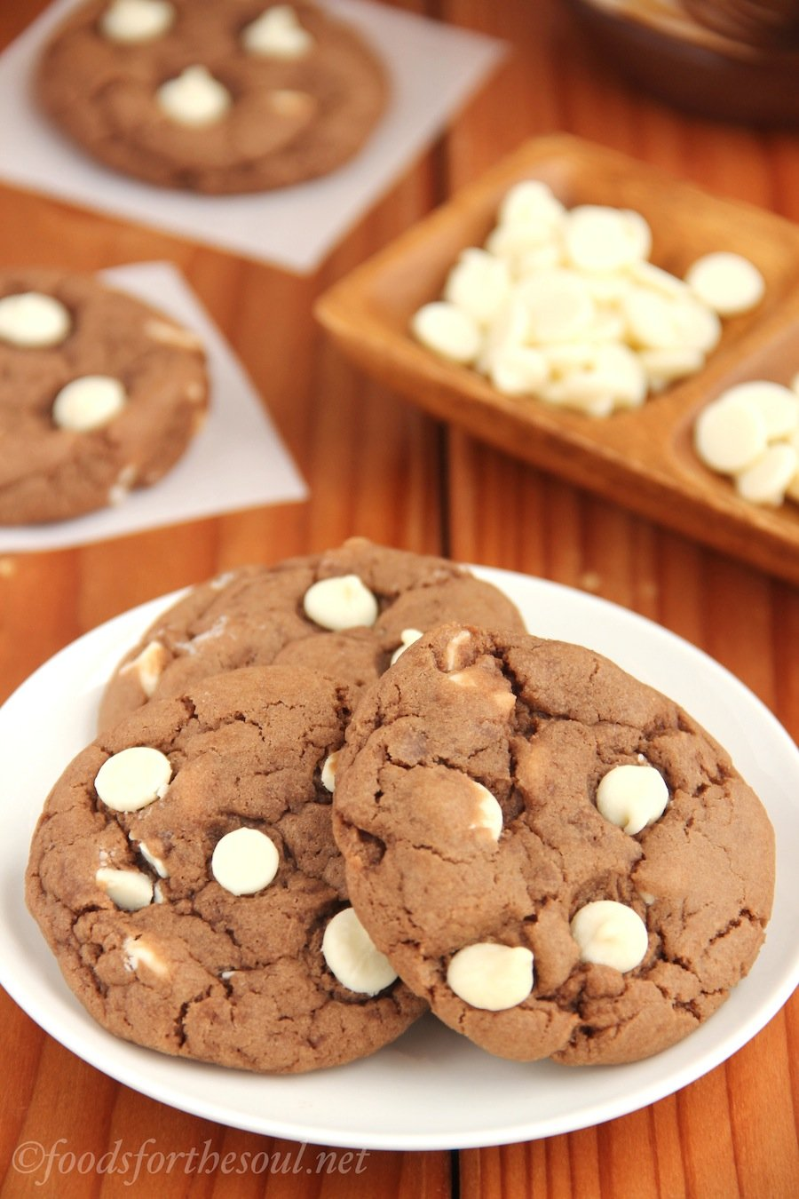 White Chocolate Nutella Cookies | Amy's Healthy Baking