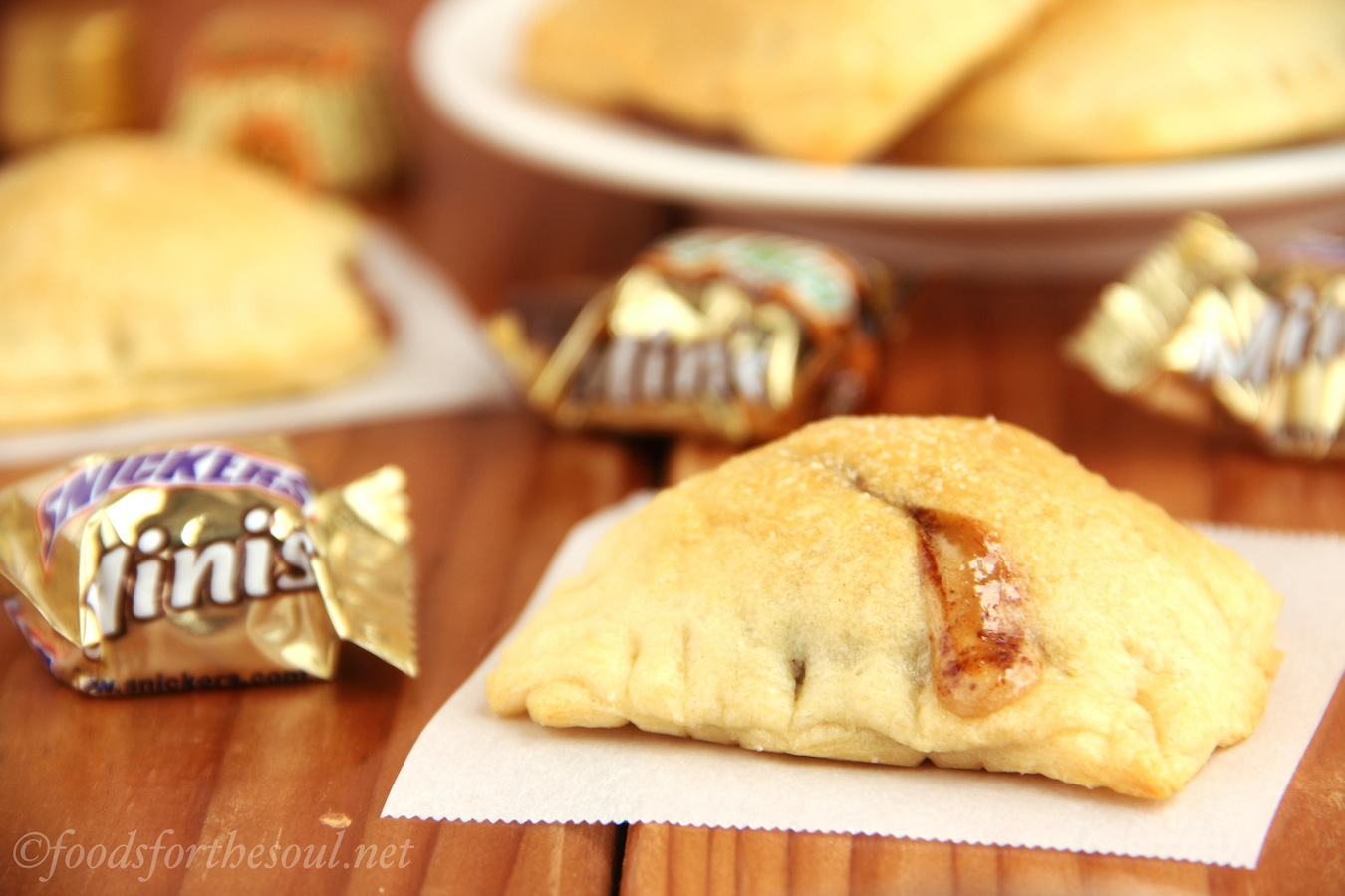 Mini Candy Bar Turnovers | Amy's Healthy Baking