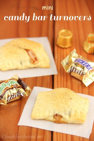 Mini Candy Bar Turnovers