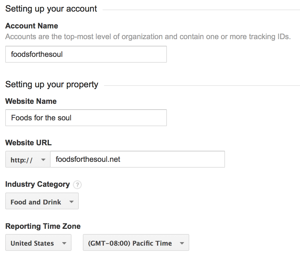 Installing Google Analytics | How To Switch Your Blog To Be Self-Hosted {foodsforthesoul.net}