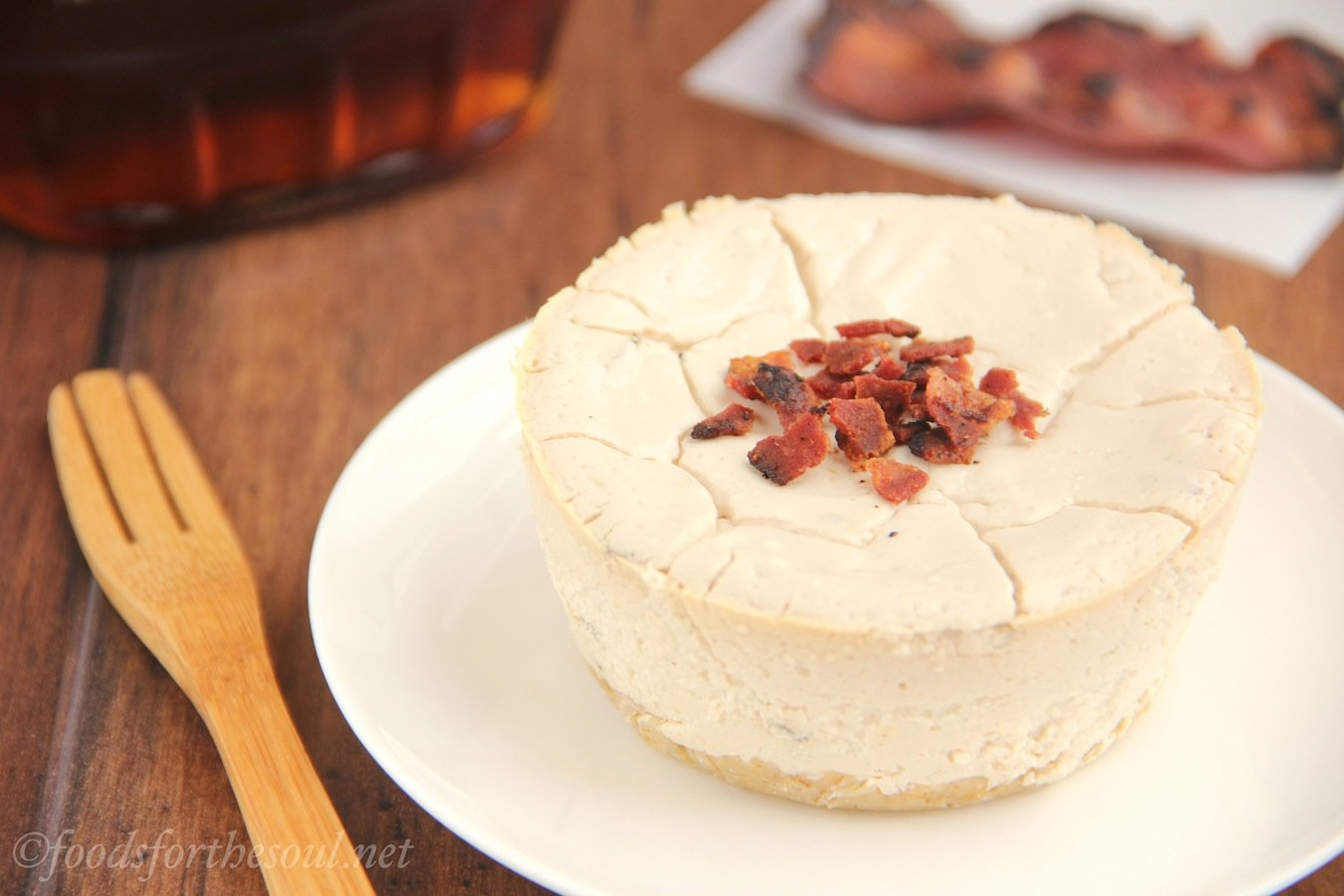 Maple Bacon Breakfast Cheesecakes. With over 16 grams of protein, they ...