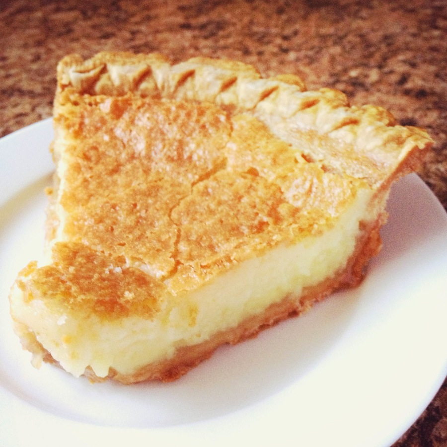 Buttermilk Pie -- so easy, a kid can make it! {Sunday Funday #7 on foodsforthesoul.net}