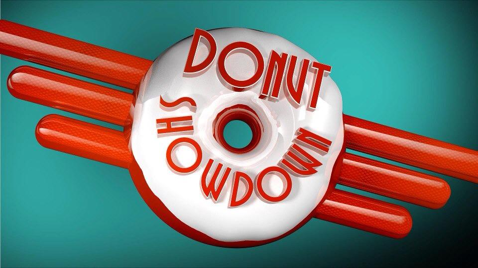 Donut Showdown -- a dangerous show to watch. Guaranteed to make you hungry! {Sunday Funday #5 on foodsforthesoul.net}