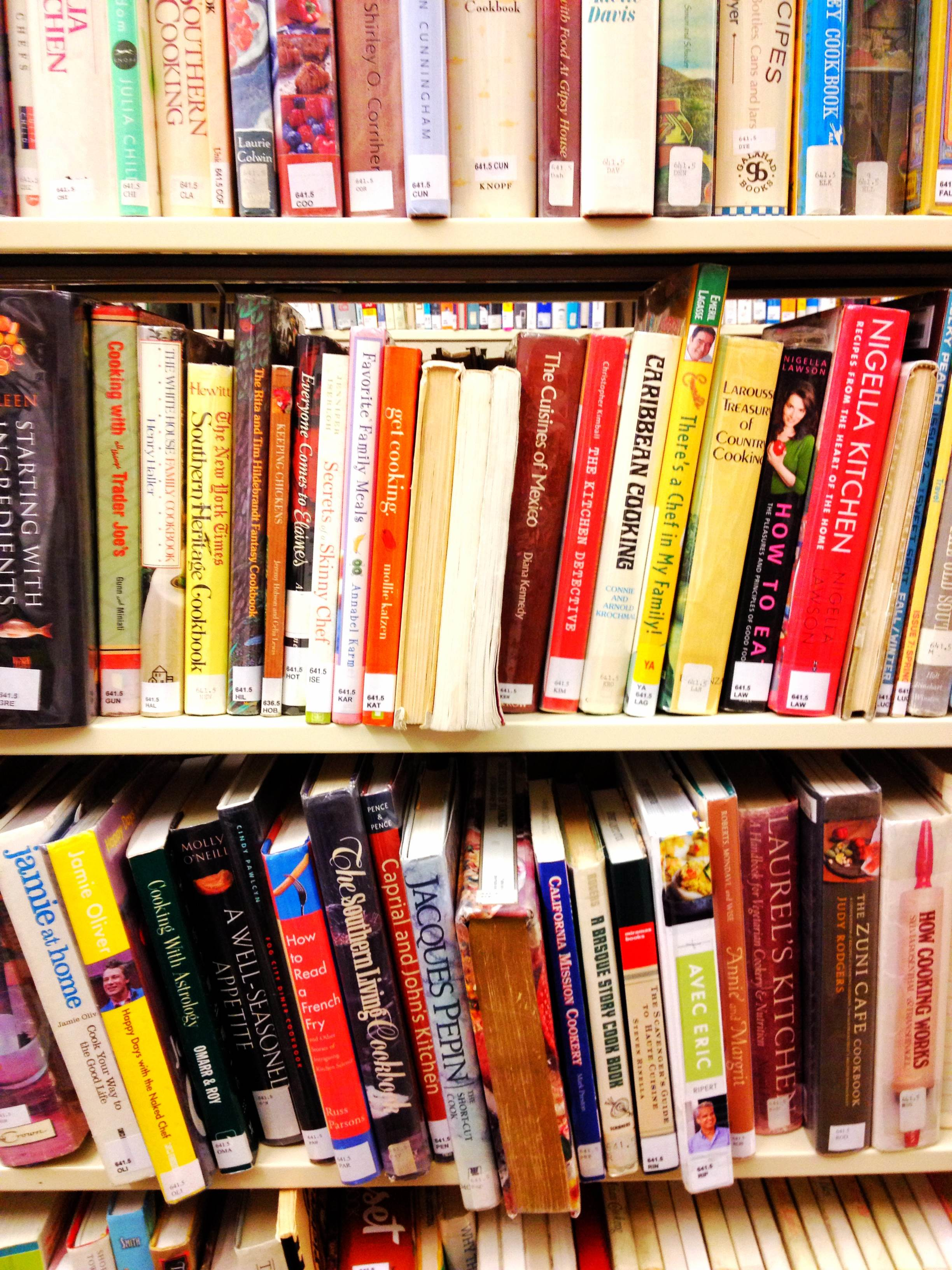 Have you checked out this section of the library? It's full of hidden gems! {Sunday Funday #6 on foodsforthesoul.net}