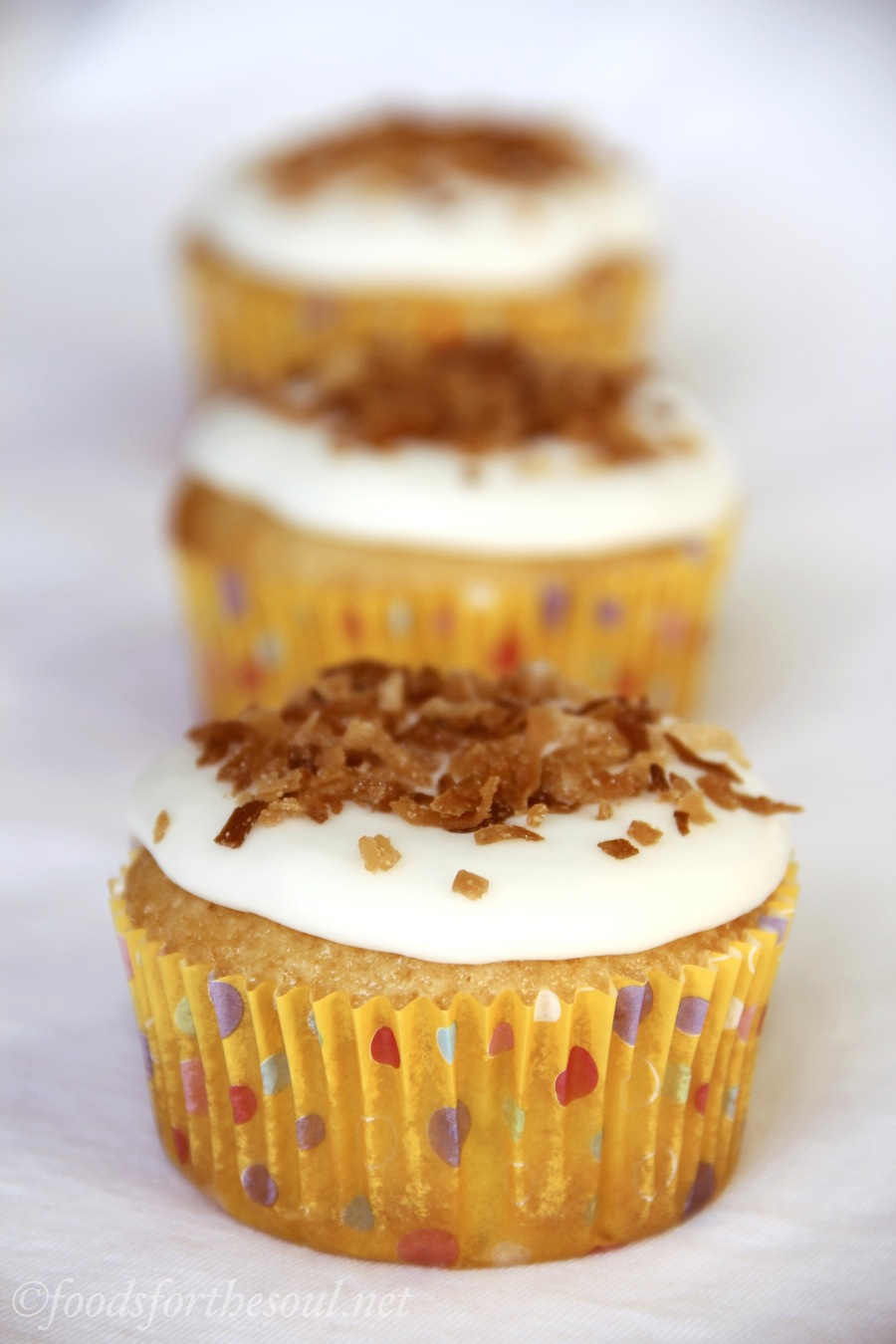 Lemon-German Chocolate Cupcakes -- a surprisingly good combination!