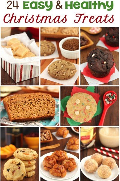 24 Easy & Healthy Christmas Treats