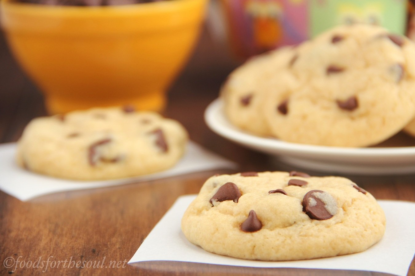 The ultimate healthy soft chewy chocolate chip cookies for No fat baking recipes