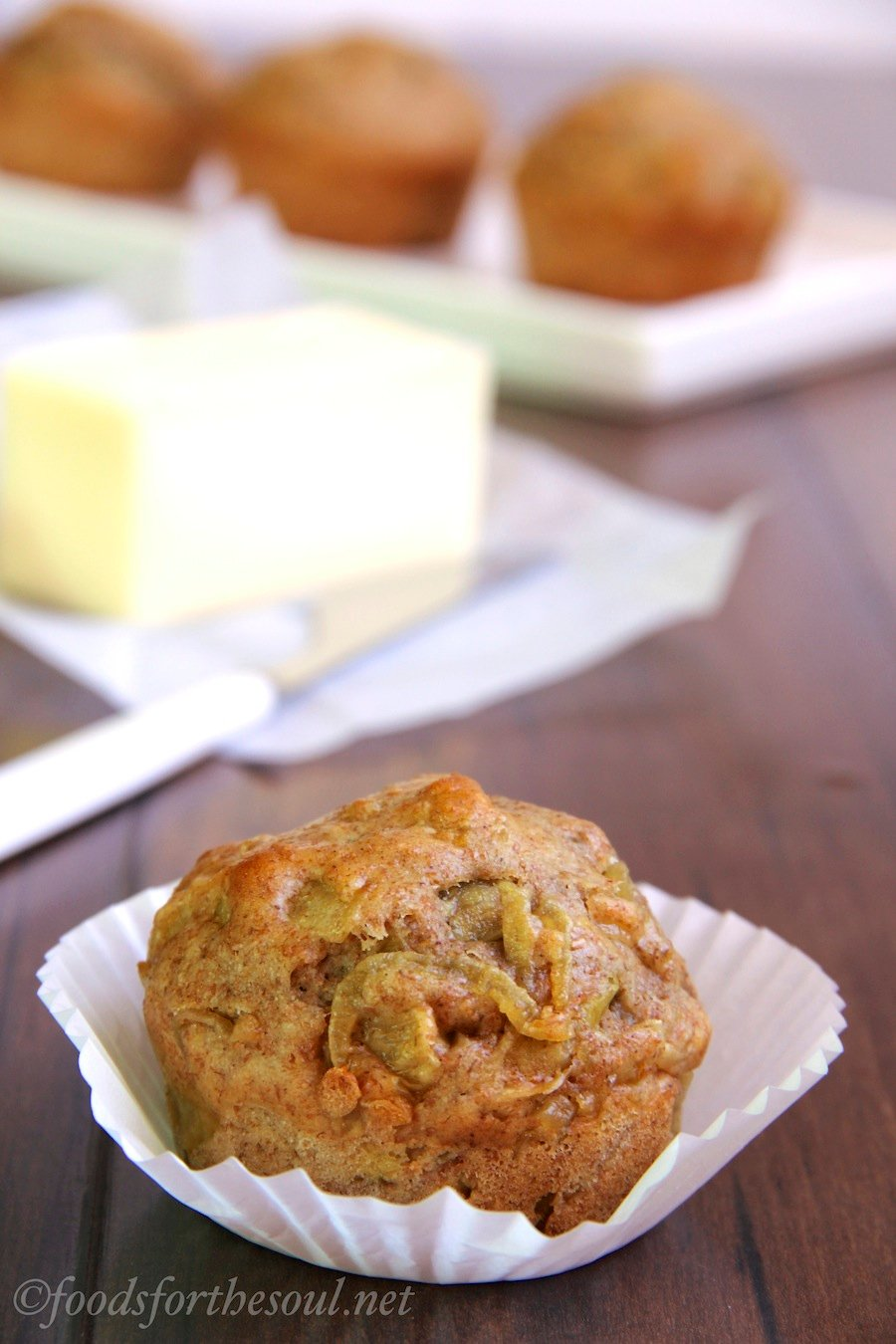 Caramelized Onion Breakfast Muffins -- a sneaky way to eat veggies for breakfast!
