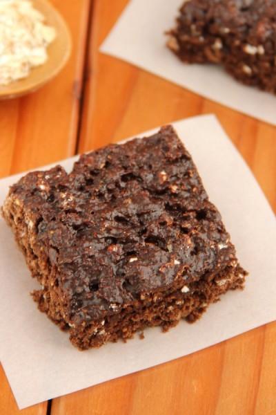 Chocolate Fig Squares