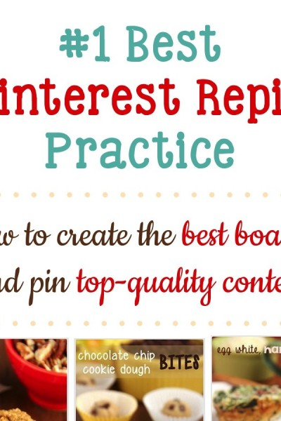#1 Best Pinterest Repin Practice