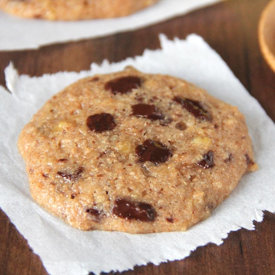 Chocolate Chunk Banana Cookies