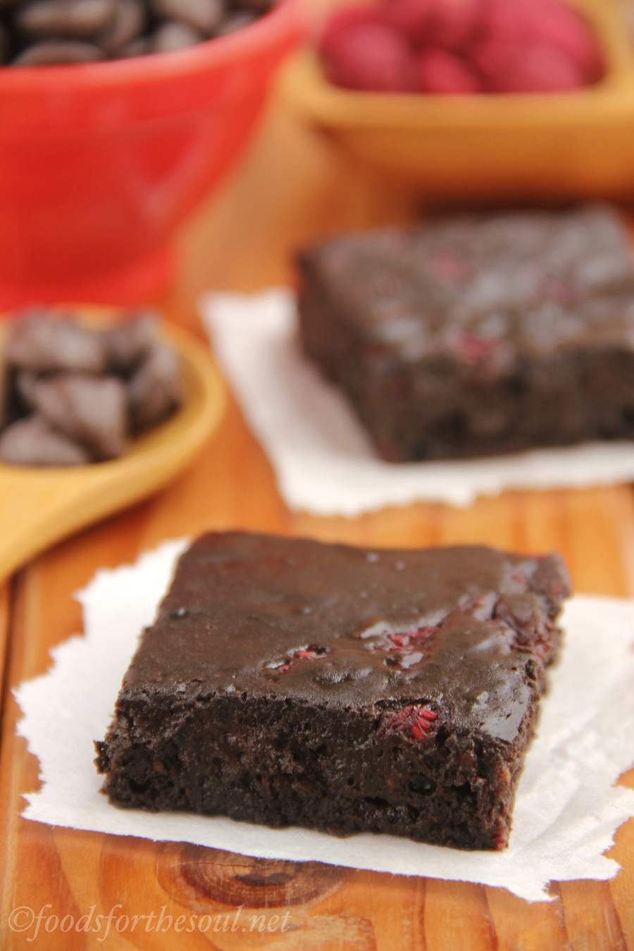 The fudgiest brownies you'll EVER eat! They're secretly healthy & just as easy to make as a box mix too!