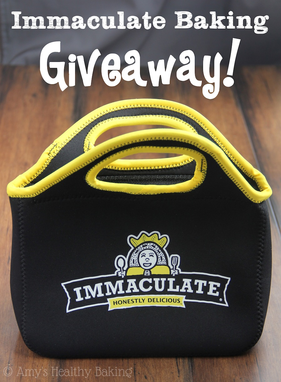 Immaculate Baking Giveaway! | amyshealthybaking.com | Win tons of fun goodies!