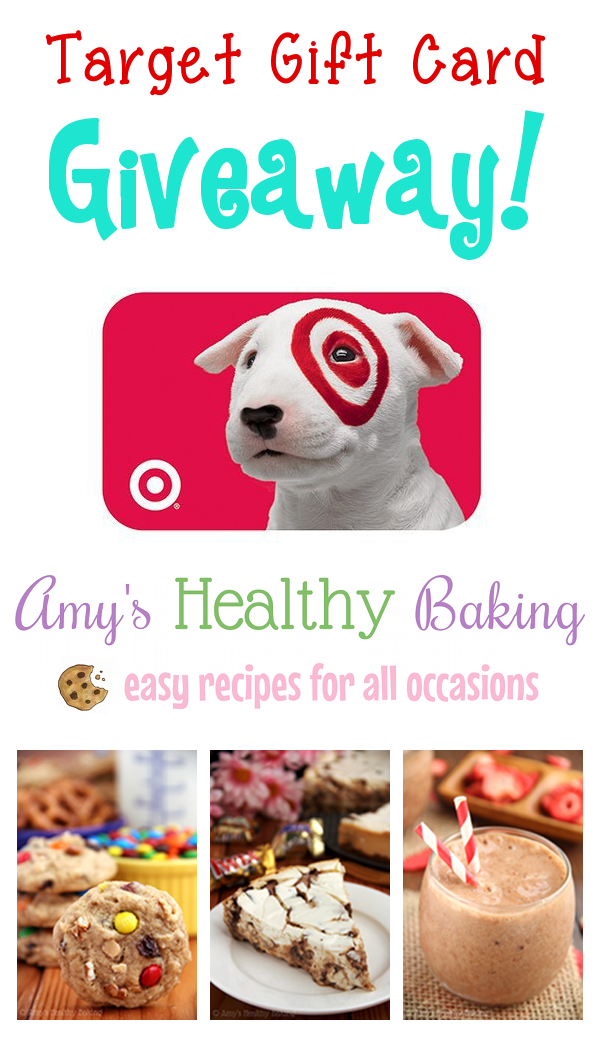 Target Gift Card Giveaway on amyshealthybaking.com! {Ends 4/11/14}