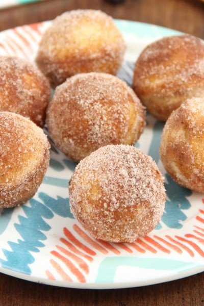 Blueberry Almond Donut Holes