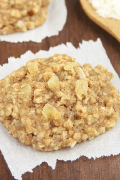 Pineapple Coconut Oatmeal Cookies