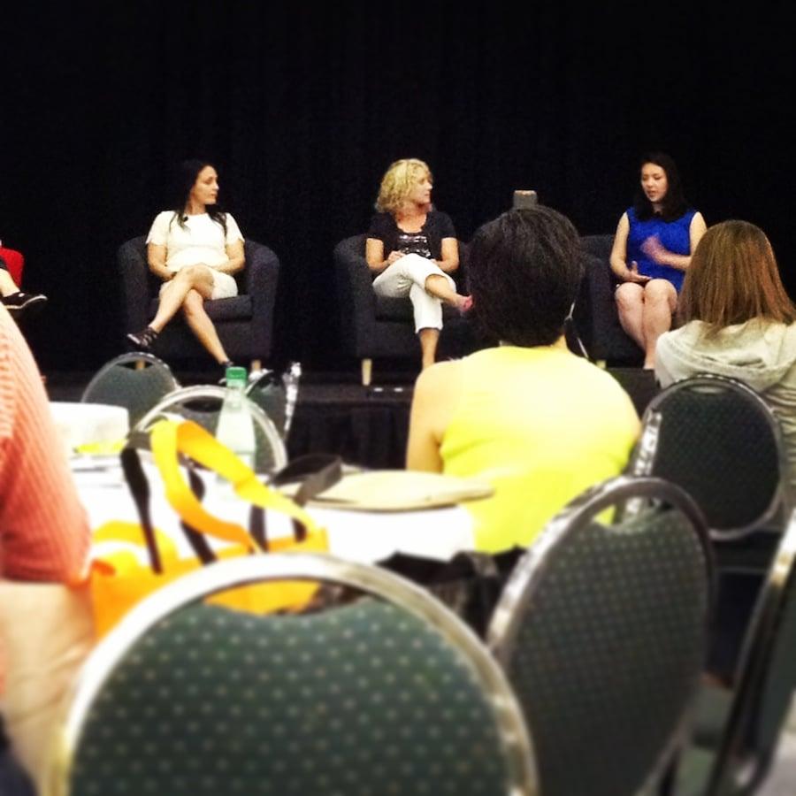 "BlogHer Food 2014 Bloggers & Brands Panel -- including Jocelyn from ""Inside BruCrew Life!"""